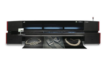 Arrow Digital delivers EFI VUTEk 5r LED RTR printer to Hannu Marketing