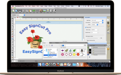 EasySignCut Pro adds supports for Roland Redsail and vinyl cutters