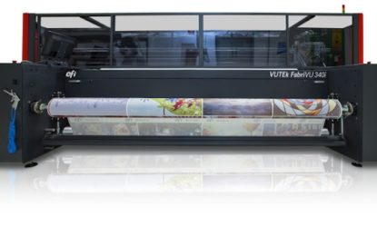 New EFI to make global launch of its FabriVU 340i sublimation printer at FESPA Berlin 2018