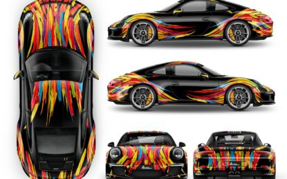 Avery Dennison unveils seven new car-wrapping colours at FESPA 2018