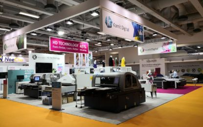 Kornit Digital launches new direct-to-garment Avalanche HD printer at FESPA 2018