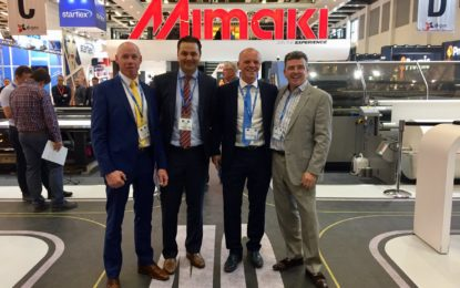 Mimaki pulls out all stops at FESPA 2018: from 3D solutions to UV-curable print-and-cut systems