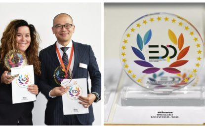 MIMAKI UCJV300-160 RTR and 3DUJ-553 3D printer recognised with EDP Awards 2018