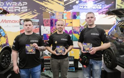 Ivan Tenchev from Bulgaria takes FESPA World Wrap Masters 2018 title