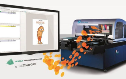 Kornit Digital and ColorGATE team up for complete direct-to-garment workflow solution