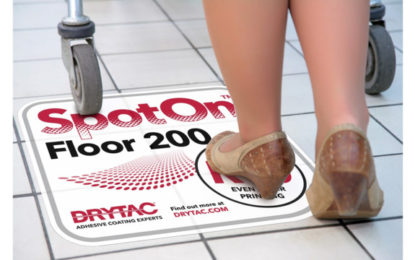 Drytac SpotOn Floor 200 gains global Class B1 fire rating