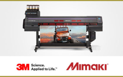 Mimaki and 3M join hands in Europe