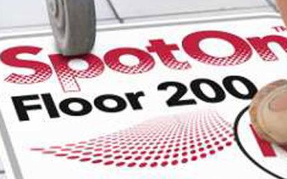 Drytac SpotOn Floor 200 also works on short pile carpets