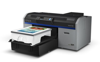 EPSON DTG SC-F2100 printer a hit during the recent FESPA 2018