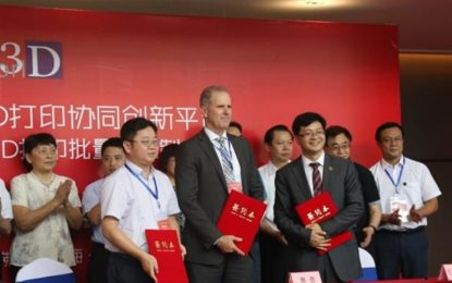 HP opens 3D printing center in China
