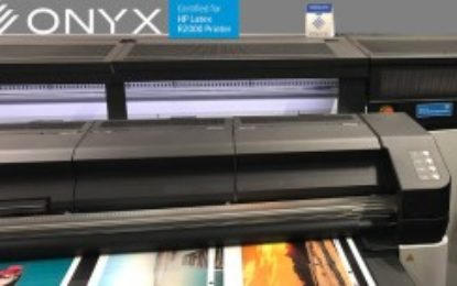 ONYX software certified for HP Latex R Series printers