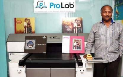 Monotech delivers India's first GCC UV flatbed printer to PRO LAB