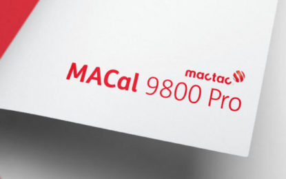 Mactac announces new colours for MACal 9800 Pro Series