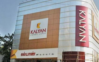 Kalyan Jewellers to invest Rs 1,000 cr to open 20 stores by 2019