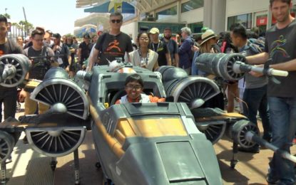Massivit3D fulfils teenager's dream with Star Wars X-Wing Fighter Wheelchair Costume
