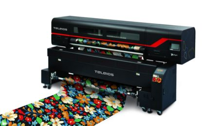 Dgen announces launch of Teleios Grande H12 textile printer