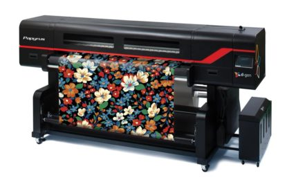 Dgen announces Teleios Grande H12 fabric printer