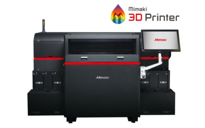 MIMAKI 3DUJ-553 printer shortlisted for TCT Awards