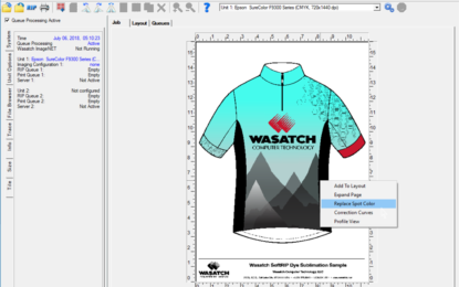 Wasatch launches SoftRIP Version 7.6 for spot colour replacement