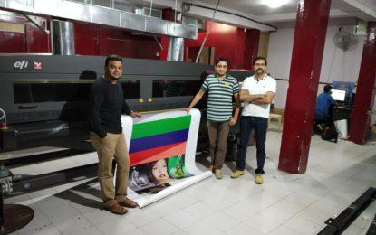 Arrow Digital delivers Efi Vutek GS3200 hybrid printer to Pixel 2 Print