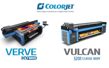 ColorJet showing UV printing solutions for future ready business at Media Expo 2018 in New Delhi