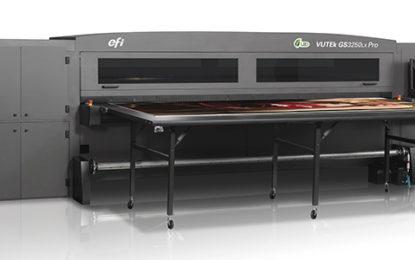 Macromedia adopts new Efi VUTEk GS3250LXR LED UV RTR
