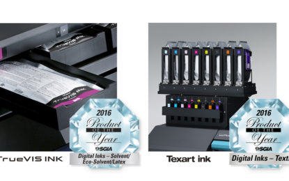 Roland DG bags two SGIA 'Products of the Year' Awards