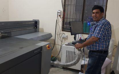 City Advertising installs new HandTop UV flatbed printer at its Sahibabad facility
