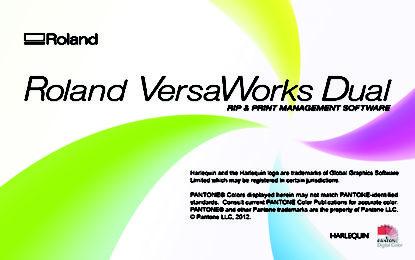 Roland DG announces new VersaWorks 6 RIP Software