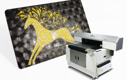 GCC announces availability of its UV-LED flatbed printer