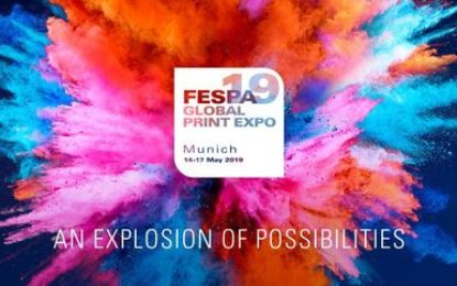 FESPA Global Print Expo 2019 returns to Munich with an 'Explosion of Possibilities'