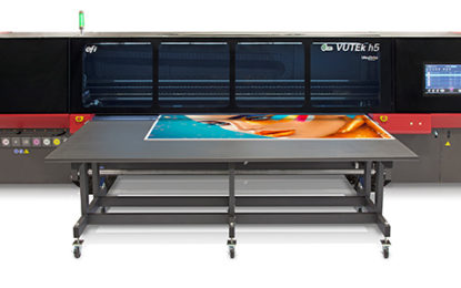 EFI announces launch of new VUTEk h5 hybrid LED printer at EFI Connect 2019