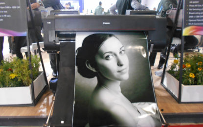Canon India demonstrated prowess of imagePROGRAF wide-format printers at PRINTPACK INDIA 2019