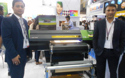 Apsom Infotex launches Roland VersaUV S-Series direct-to-substrate UV LED flatbed and belt printers