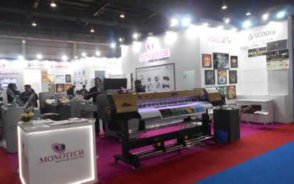 Monotech introduced its entry-level PIXELJET miniRTR printer at PRINPACK INDIA 2019