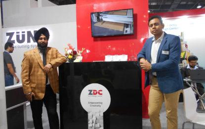 Zund at PRINTPACK INDIA 2019 showcased its S3 Digital Cutting System alongside Zund Design Centre software
