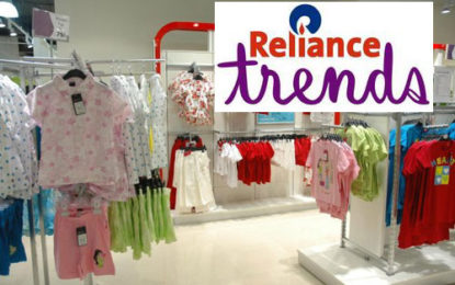 Reliance plans major expansion of its Reliance Trends fashion stores